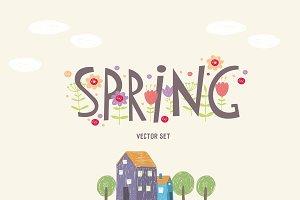 Spring vector set