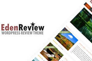 EdenReview - Resposive Review Theme