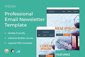 Vision - Professional Email Template