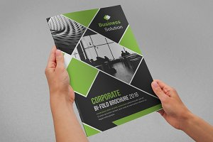 Corporate Bi Fold Brochure New