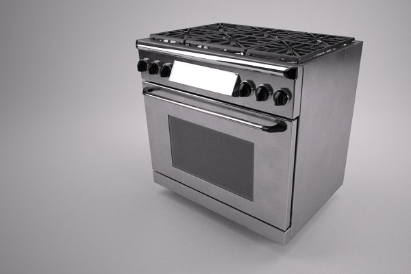 Furniture: Graphics834 - 36 inch gas range cooker