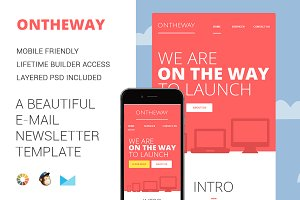 On the way-Email Newsletter Template