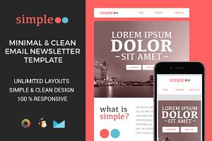 Simple - Responsive Email Template