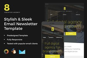 Creative Agency-Newsletter Template