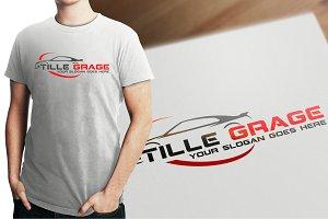 Tille Grage Logo Template