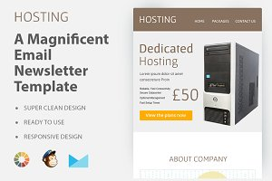 Hosting-Responsive Email Template