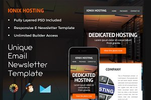 Ionix Hosting – Newsletter Template