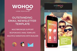 Wohoo – Newsletter HTML Template