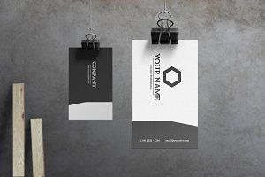 Slate - Modern Business Card