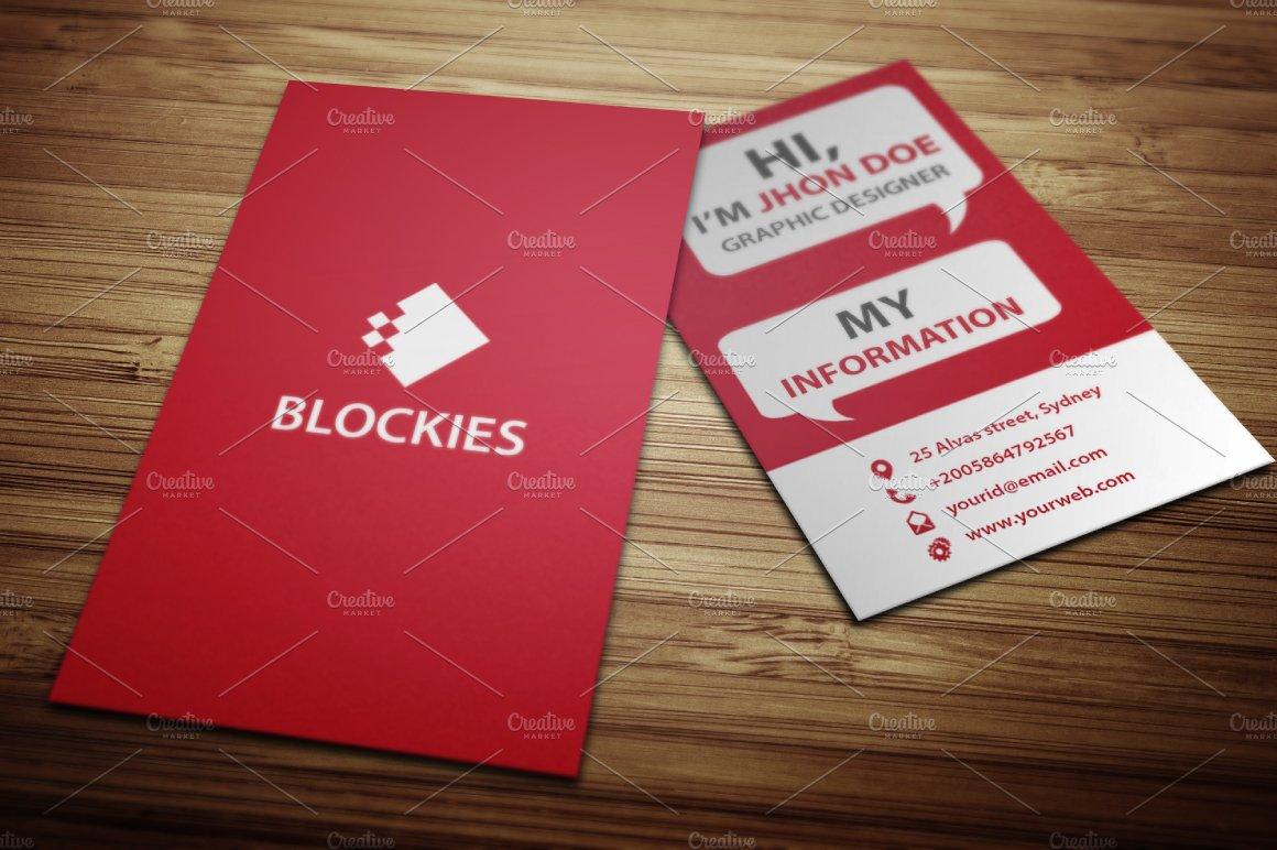 Funky business card template business card templates creative market colourmoves