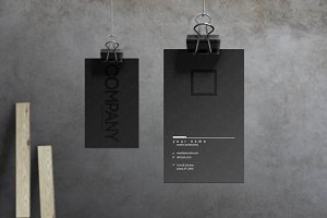 Noir - Business Card