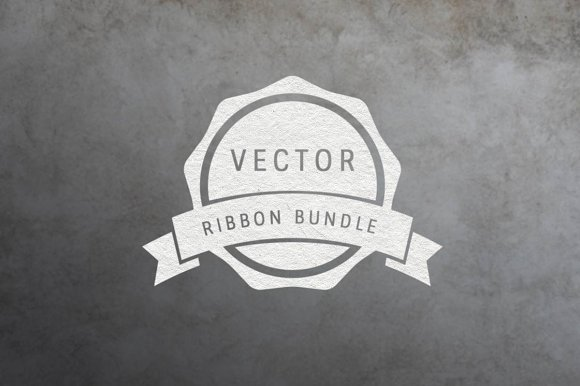 Vector Ribbon Pack Vol. 1 - Objects