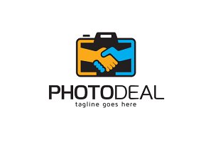 Photo Deal Logo Template