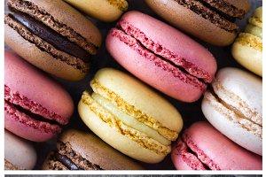 Macarons collage