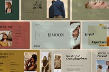 Eimoon - Brand Google Slide by  in Presentations