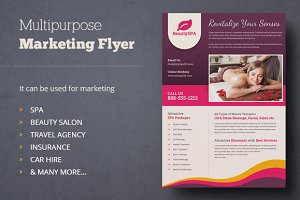 Multipurpose Marketing Flyer