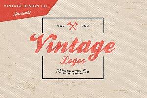 Vintage Logos - Volume 3