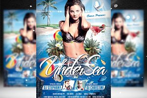 Under Sea Flyer Template