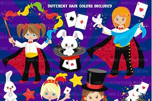 Magic Show Clipart AMB-1192