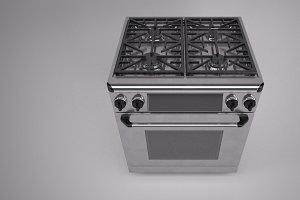 30 inch gas range cooker