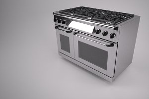 48 inch Gas Range Cooker