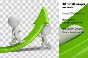 3D Small People - Cooperation