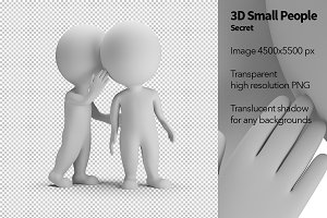 3D Small People - Secret