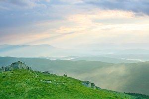 Carpathians landscape