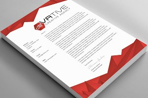 Creative Corporate Agency Letterhead