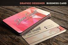 Graphic Designer Business Card