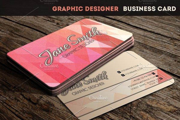 Makeup Artist - Business Card ~ Business Card Templates ~ Creative Market
