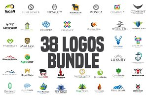 38 logos Bundle