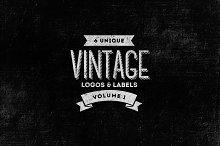 6 Vintage Logos / Labels Templates