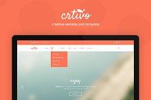 CRTIVO - Creative One Page (7 PSD)
