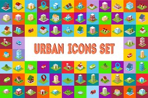 Bundle Set urban icons