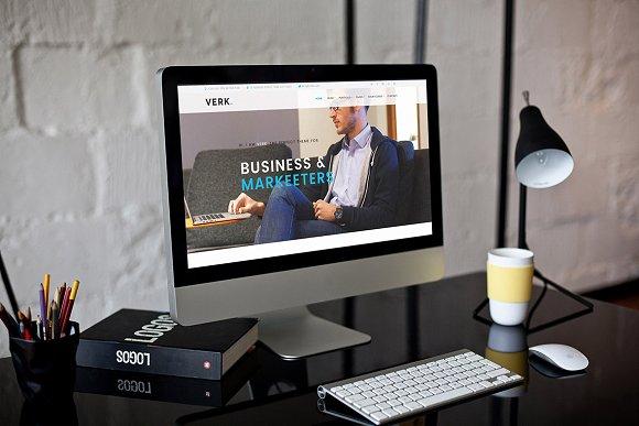 Verk - A Business WordPress Theme