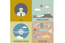 International and domestic airline