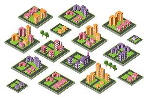Bundle Set isometric city