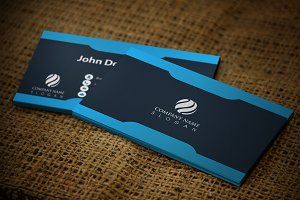 Cardish Business Card Template