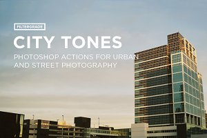City Tones Photoshop Actions