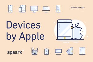 Spaark Products by Apple (15 icons)