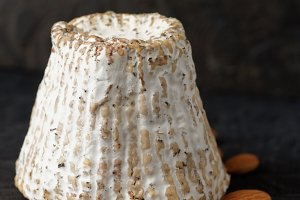 Goat cheese with mold crust