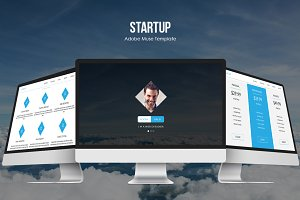 Startup Responsive Muse Template