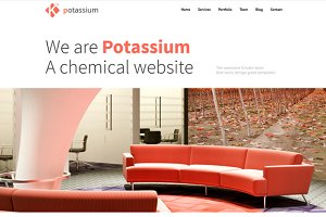 Potassium | Wordpress Theme