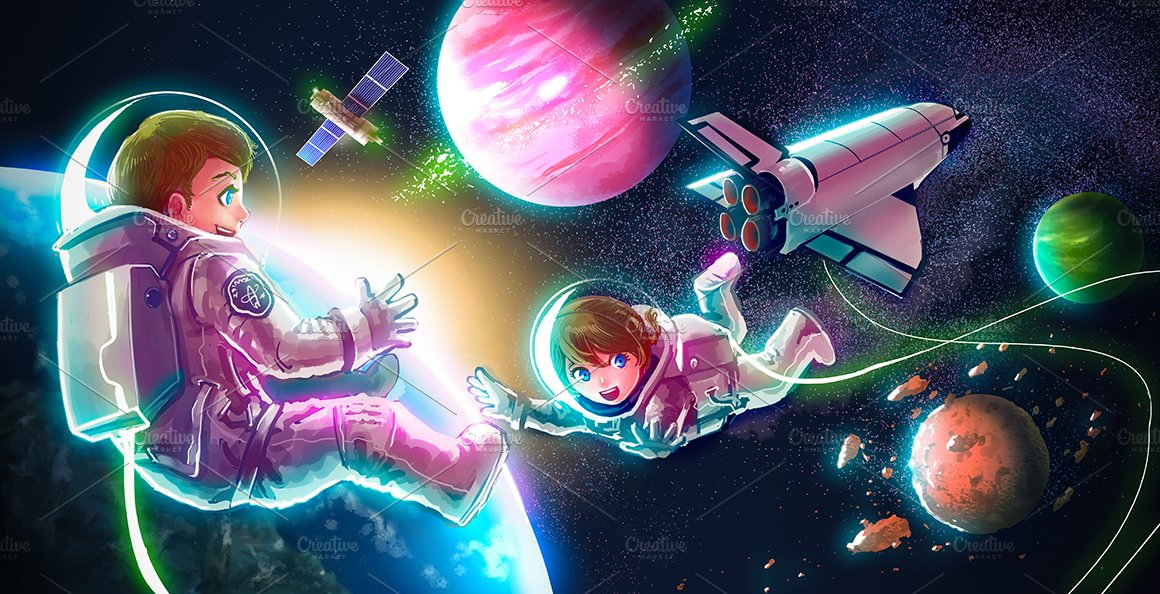 astronaut kid space - photo #19