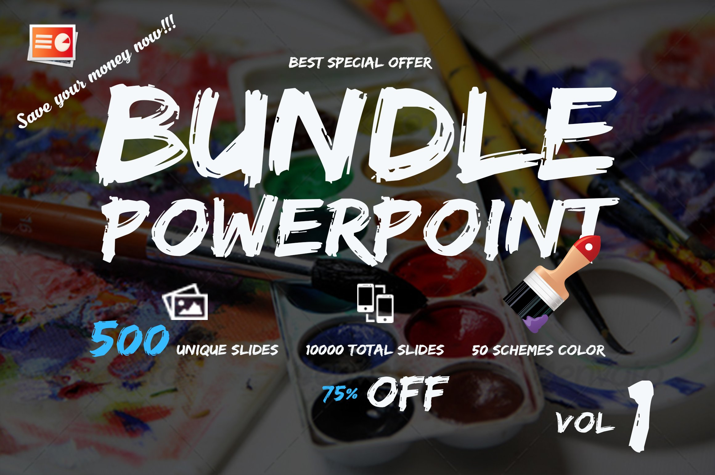 bundle powerpoint template presentation templates creative market