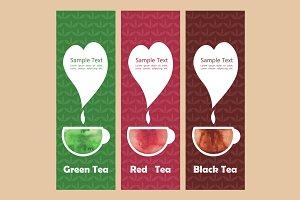 3 Tea Fliers