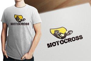 Motocross Logo Template