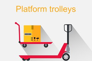 Platform Trolleys Icon