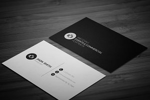 Photographer Business Card 002